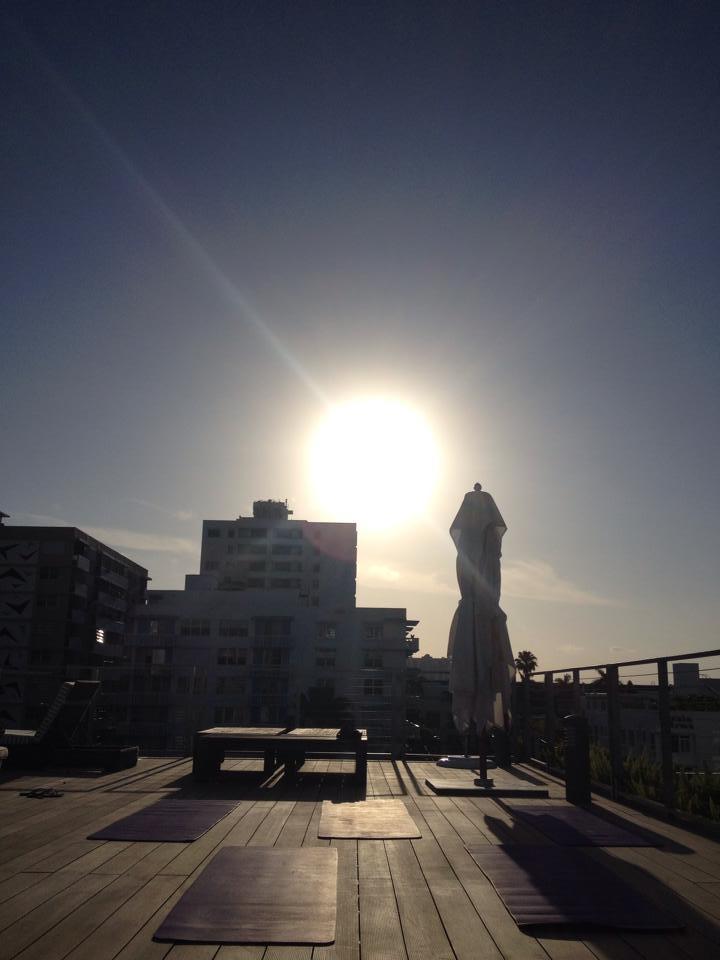 redbury rooftop yoga